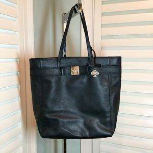 Kate Spade Large Genuine Leather Tote
